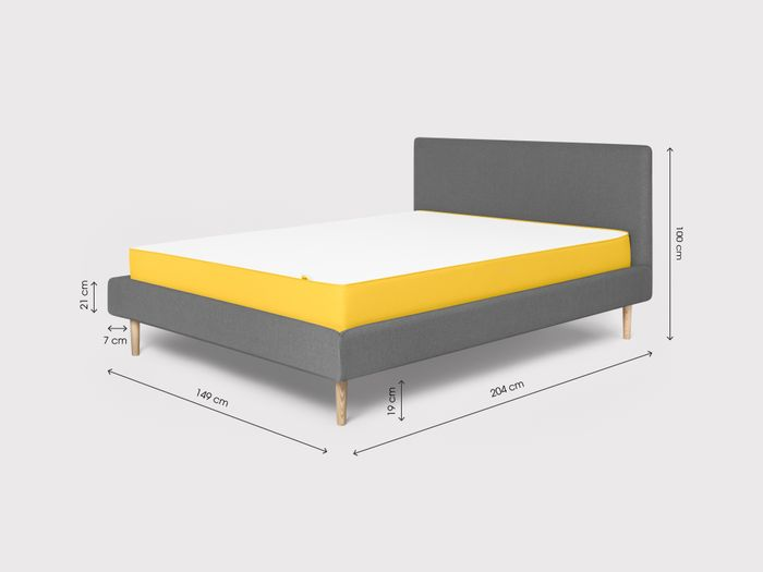timeless design 66e4d 03423 the tailored bed frame